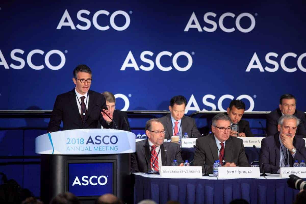 zdjęcia z ASCO 2018